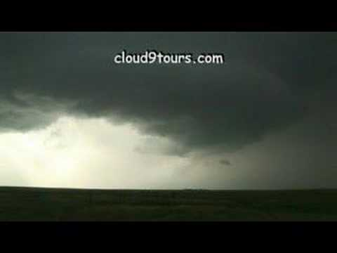 supercell near Hill City, KS