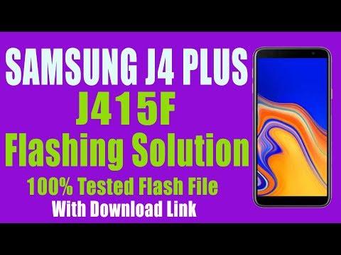 Flash Full Firmware J415F - Samsung J4 Plus by Odin 3 13 1