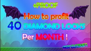 How to get 3750+ WORLD LOCK IN 1 MONTH ! (2017) | Growtopia