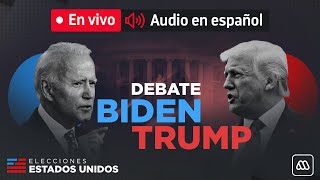 Debate Donald Trump y Joe Biden EN ESPAÑOL COMPLETO - Elecciones en Estados Unidos