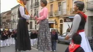 preview picture of video 'Geganters i Grallers Poble Nou a  Gironella'
