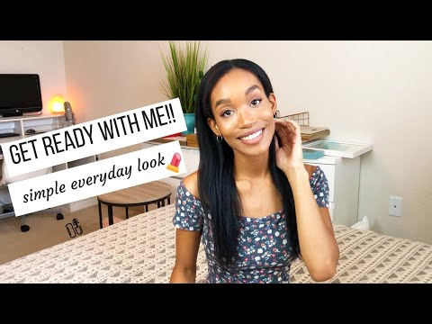 GET READY WITH ME 2019 // SIMPLE EVERYDAY MAKEUP LOOK // Jessica Tull