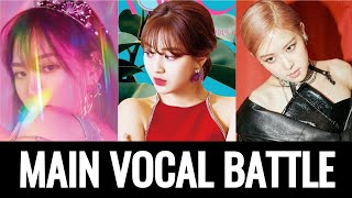 WENDY VS JIHYO VS ROSE ( MAIN VOCAL BATTLE )