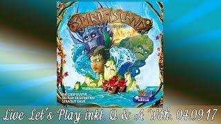 Spirit Island Brettspiel Live Let's Play Inkl. Talk (Q&A) Mit Mirko & Cord Wdh. Von 4.9.17