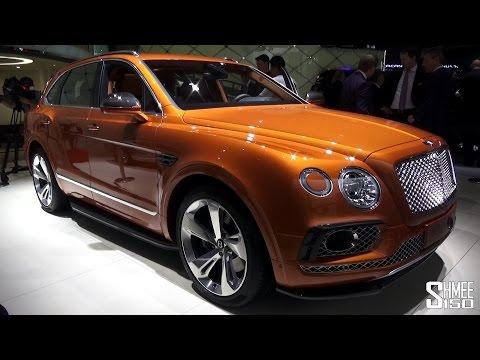 Bentley Bentayga SUV - Full In-Depth Tour at IAA 2015
