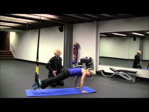 TRX suspended crunch