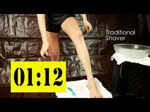 Fast Leg Shave With The OmniShaver!