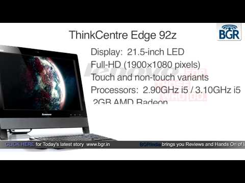 Lenovo launches the ThinkCentre Edge 72z and ThinkCentre Edge 92z AIOs in India