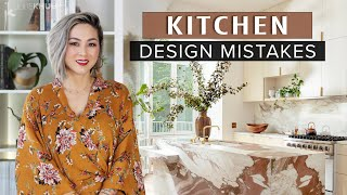 COMMON DESIGN MISTAKES | Kitchen Design Mistakes and How to Fix Them | Julie Khuu