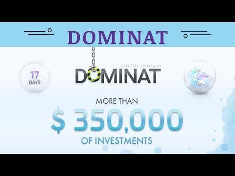 Dominat.company отзывы 2019, mmgp, investment, ИНВЕСТИРОВАНО БОЛЕЕ $ 350,000