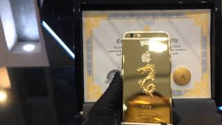 IPhone 6 gold plating - Glossy Gold II version No.: 88/199 - unboxing