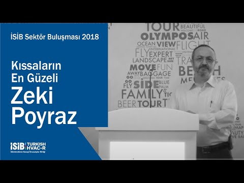 İSİB Sektör Buluşması 2018 – Kıssaların En Güzeli – Zeki Poyraz