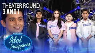 "3 And 1 sings ""Dancing On My Own"" at Theater Round 