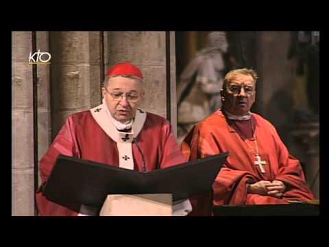 Messe pour les 25 ans d'Episcopat du cardinal Vingt-Trois et de Mgr Soubrier