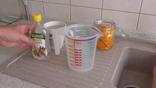 Orangen-Essig-Reiniger selber machen - Mit Essig und Orangenschalen zur Bio-Putzmittel Herstellung