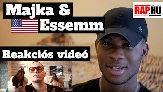 Majka & Essemm Reaction Videó 🔫 Reakció Egyenesen Amerikából 🇺🇲   Hidegvérrel  🔫