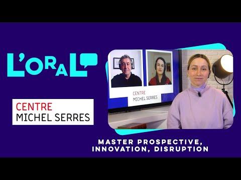 L'oral : master innovation, entreprise et société, parcours prospective, innovation et disruption