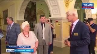 Классный руководитель Президента России в Грозном