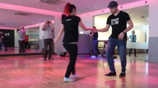 Boogie Woogie 6 count and basic moves with Markus and Jessica