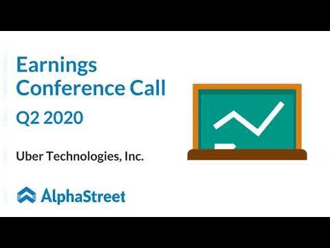 UBER Stock | Uber Technologies Q2 2020 Earnings Call