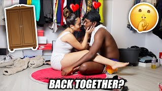 LOCKED IN A CLOSET with my Ex-Girlfriend for 24 HOURS! *TOXIC LOVE*