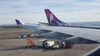 Hawaiian Airlines: Los Angeles to kahului, Maui, HI, full flight.