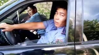 НОВОЕ! Усиление 21-го мая 2016! Полицейские нарушители ПДД. Спящий отряд Шымкента!
