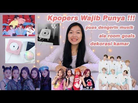 BUKAN KPOPERS KALO BELUM PUNYA INI !!! || Unboxing CD Player
