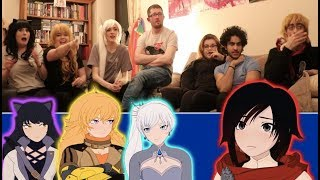 RWBY Volume 6 Chapter 1 Group Reaction: TEAM RWBY Back in Action!!