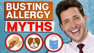 Common Allergy Myths BUSTED