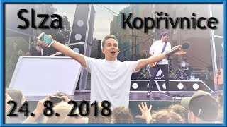 Skupina Slza - Koncert Kopřivnice 24. 8. 2018
