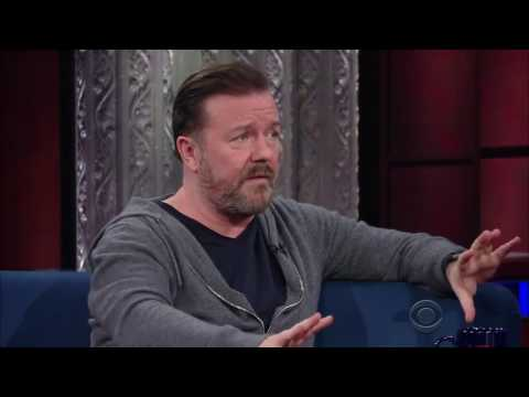 Ricky Gervais about religion vs science (Stephen Colbert, 2017)