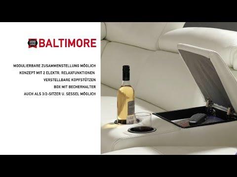 """Ecksofa für die ganze Familie - Modell """"Baltimore"""" von Lederland"""