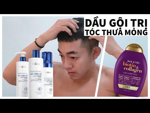 Men vs  Beauty   Review dầu gội cho tóc thưa mỏng Loreal và Biotin