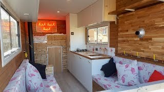 How To Convert a Luton Box Van Into an Off-Grid Camper / Tiny Home !
