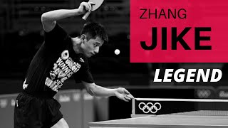 Zhang JIKE - LEGEND OF TABLE TENNIS YES OR NO ?