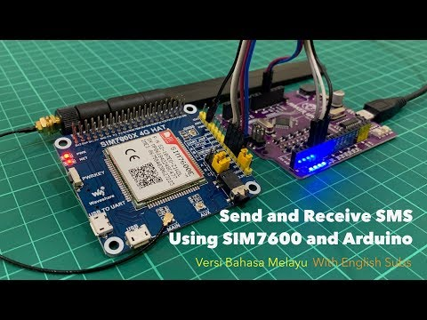 Send and Receive SMS Using SIM7600 GSM Module and Arduino [BM]
