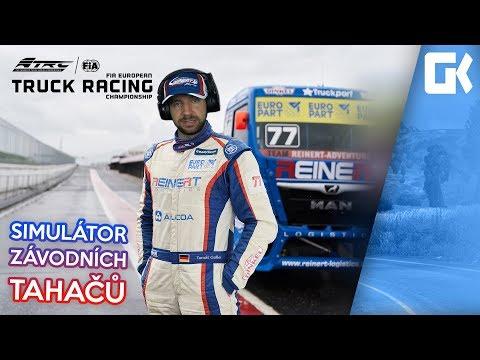 SIMULÁTOR ZÁVODNÍCH TAHAČŮ! | FIA European Truck Racing Championship #01