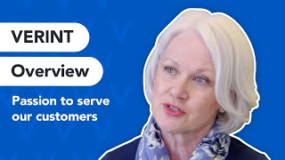 Verint Overview: Customer Engagement And Customer Experience Solutions