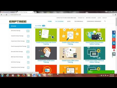 Oracle Fusion Cloud Financials Training - YouTube