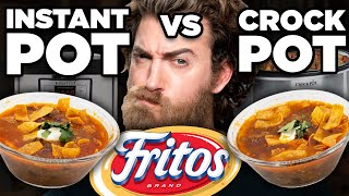 Instant Pot vs. Crockpot Taste Test