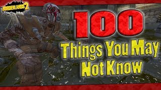 Borderlands 2 | 100 Things You May Not Know About This Game
