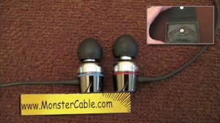 Monster Turbine in-ear Headphones / Speakers Review