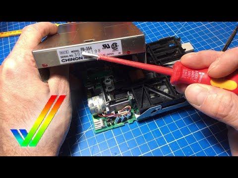 Amiga 500 Disk Drive Chinon FB-354 Rev. E Repair