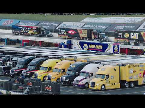 Time Lapse: watch the haulers fill up Martinsville