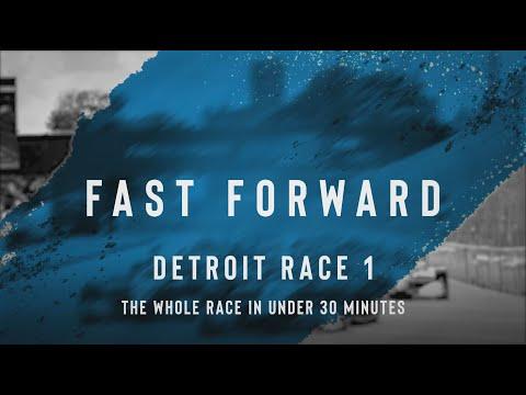 インディーカー第7戦 デトロイト 決勝レースのハイライト無料動画