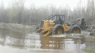 Skidder Vs Beaverdam Part 2