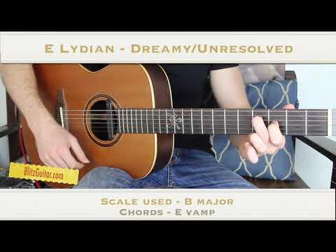 7 Unique Chord Progressions on Guitar Using Modes - Ionian, Dorian, Phrygian Etc