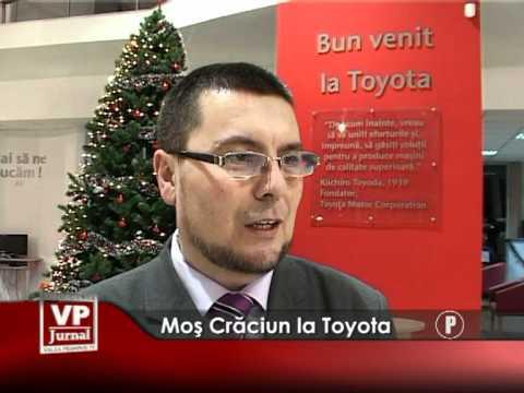 Mos Craciun la Toyota