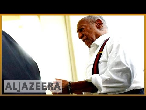 🇺🇸 Cosby sentenced to 3-10 years, deemed 'sexually violent predator' | Al Jazeera English